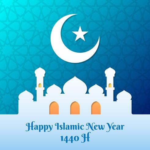 announcement for start of muharram hijri new year 1440 ah